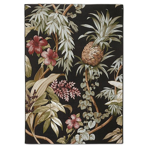Tommy Bahama Island Pineapple Outdoor Area Rug British