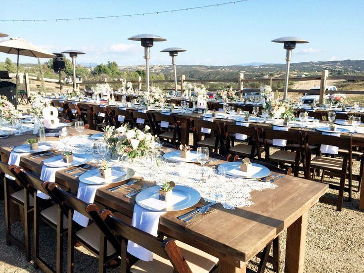 58 best rentals farm tables more san diego ca
