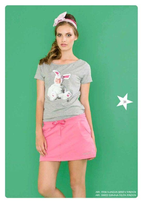 #Tshirt Jersey Stretch e #Gonna #Felpa Stretch #LollyStar - Scopri tutta la collezione qui --> http://www.lollystar.it/