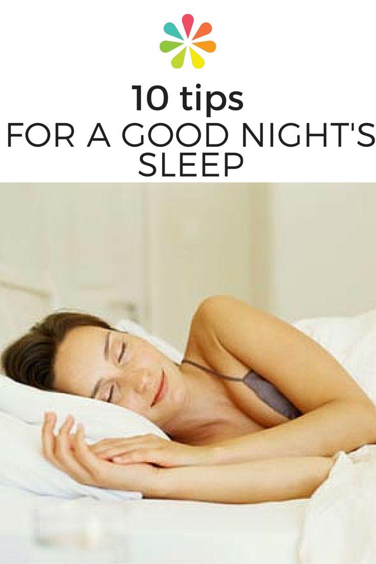 12 Tips for a Good Night's Sleep