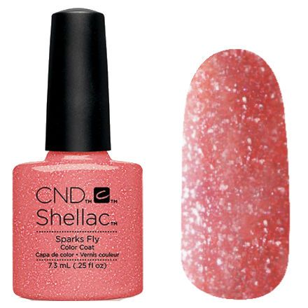 Cnd Shellac Flirtation Collection 2016 Sparks Fly