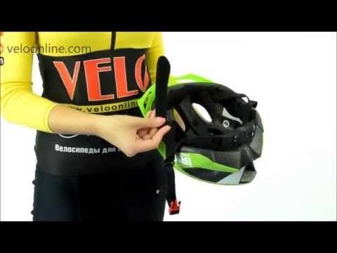 Видео о Велосипедный шлем Polisport MYTH green-black