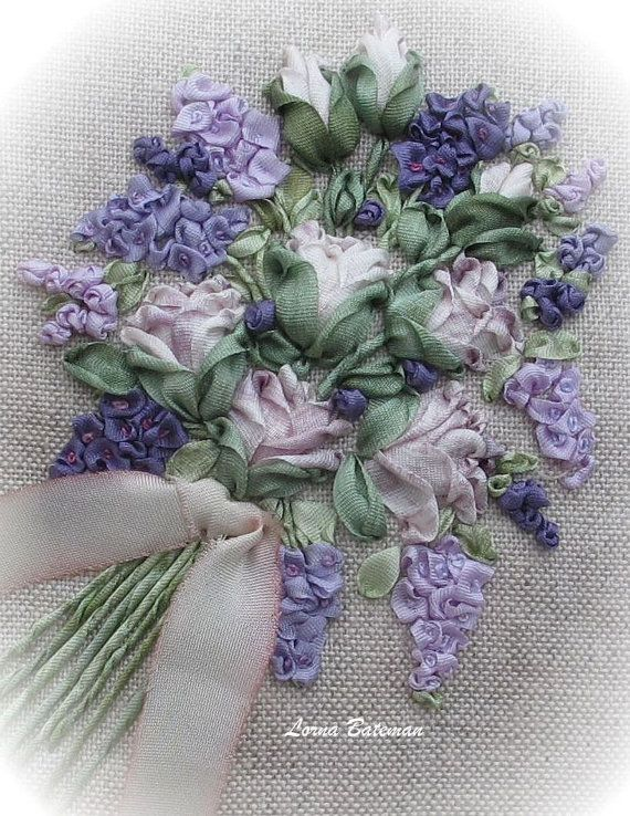 This little lavender sachet was one of a pair created for Inspirations magazine and was featured in Issue: 82. The kit contains everything needed