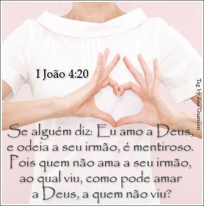 Se alguém diz: Eu amo a Deus, e odeia a seu irmão, é mentiroso #Deus_Abencoe_Voce #Abencoe #Deus