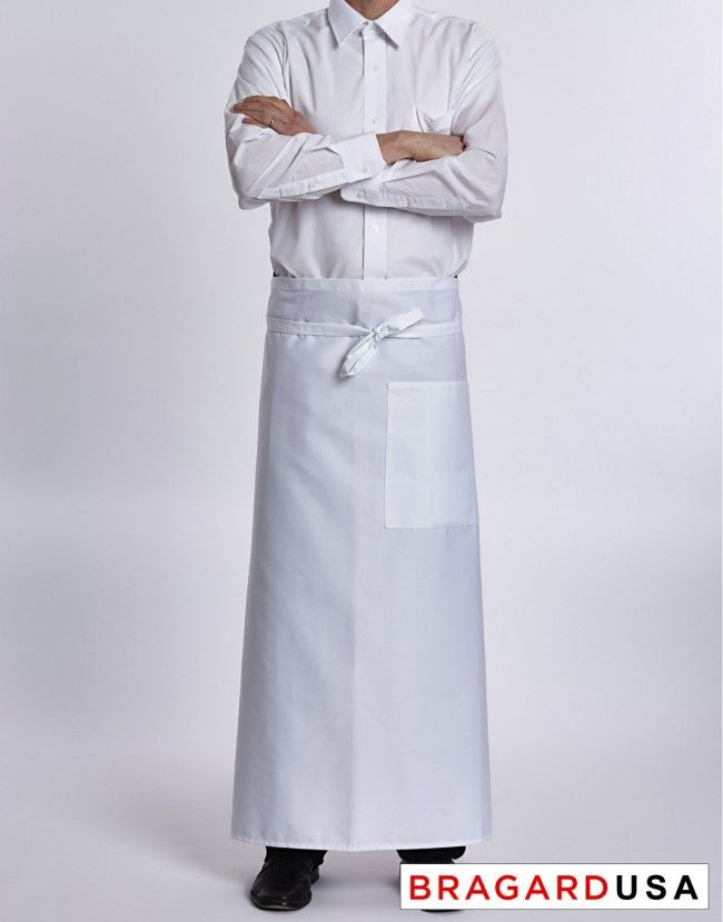 Bragard Black Bistro Chef Apron