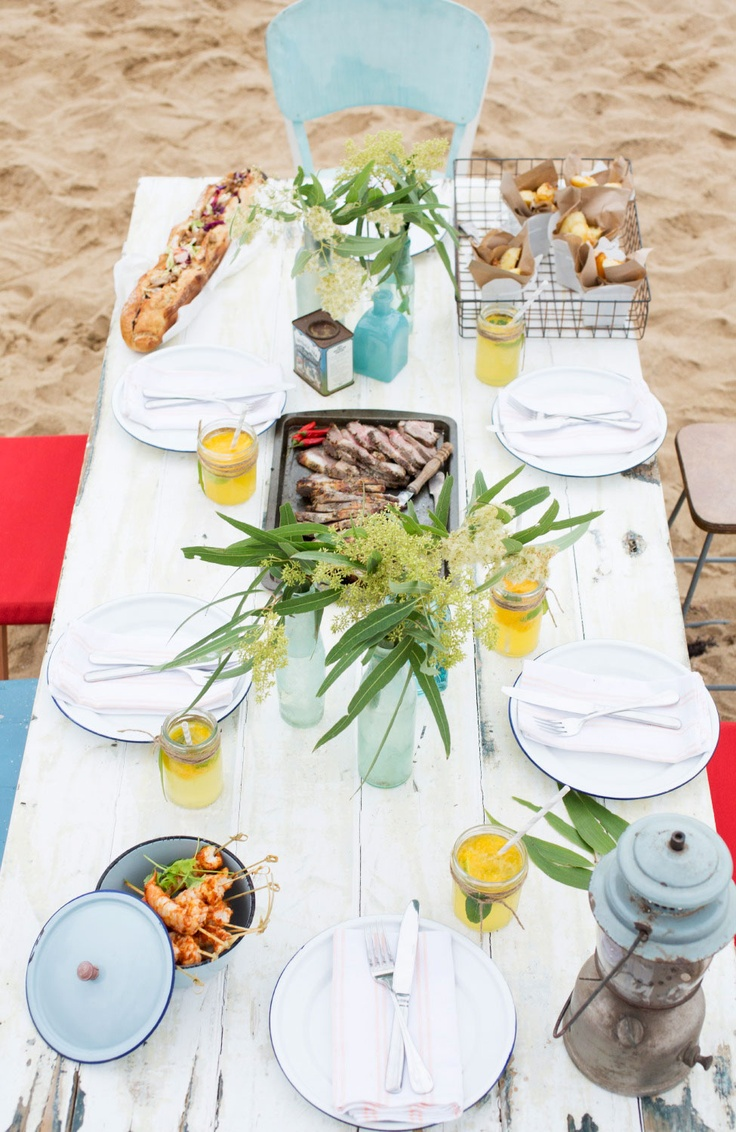 Australia Day Party   (by Insight Creative Styling / Karen Locke; photography by Honey Atkinson).