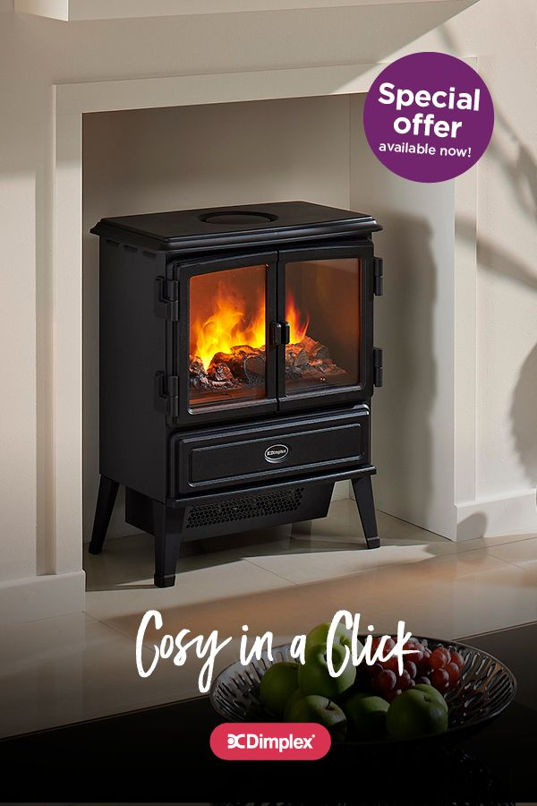 Opti-myst electric fires.  The beauty of a real fire. The simplicity of electric.   Purchase an Opti-myst fire between 20th October and 8th December 2017 and grab up to £75 cash back, on selected models.