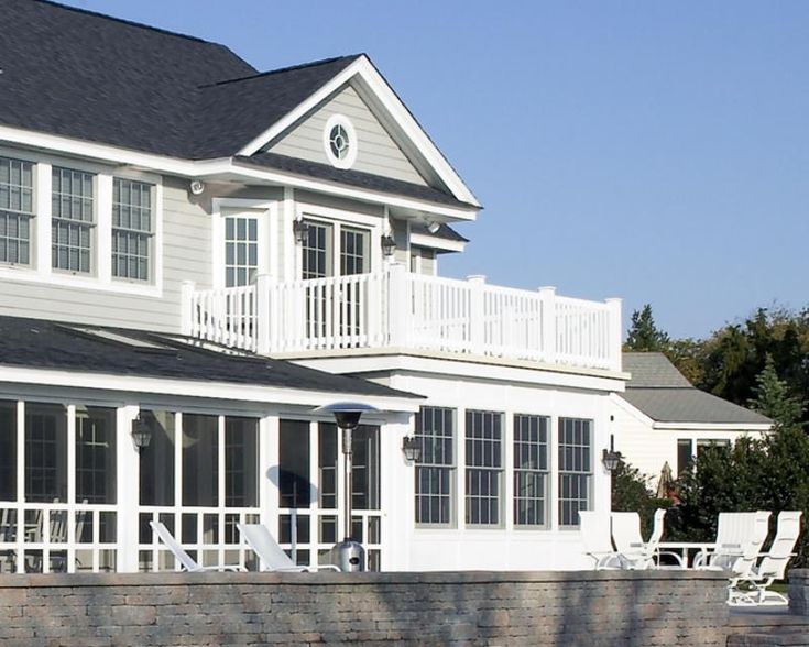 17 best images about addition with roof deck on pinterest for Second floor sunroom