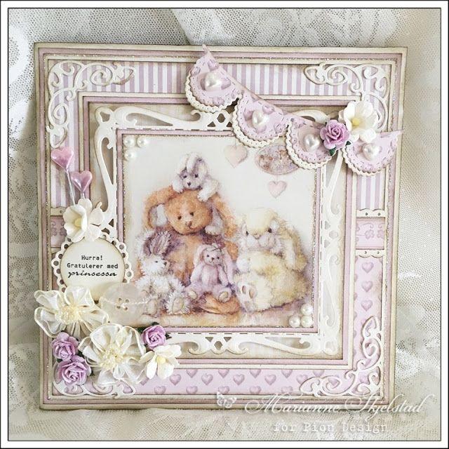 En liten prinsesse - Pion Design | Mariannes papirverden. | Bloglovin'