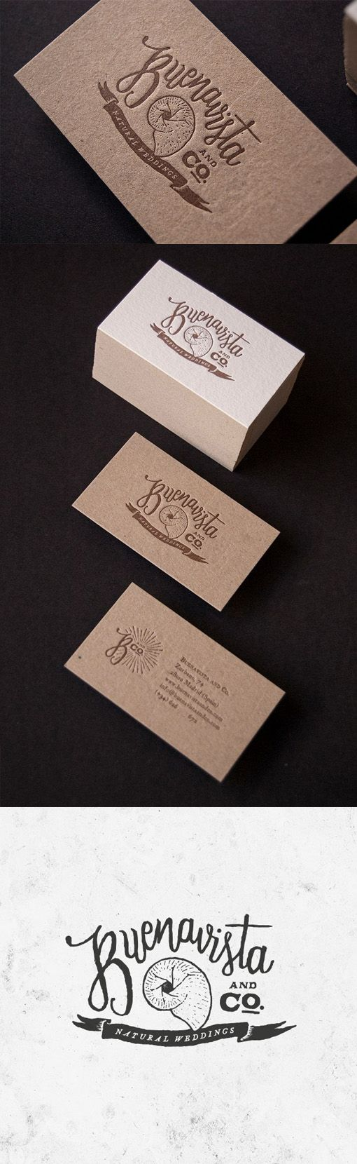 852 best business card gallery images on pinterest embossed earthy letterpress business card for a wedding planner magicingreecefo Images