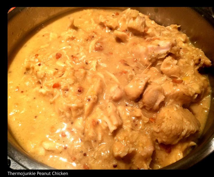 Recipe Lucys Peanut Chicken by mummunro - Recipe of category Main dishes - meat