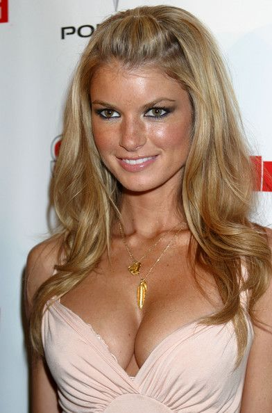 In This Photo: Marisa Miller The Sports Illustrated 2005 Swimsuit Issue press conference at the AER Lounge in New York.