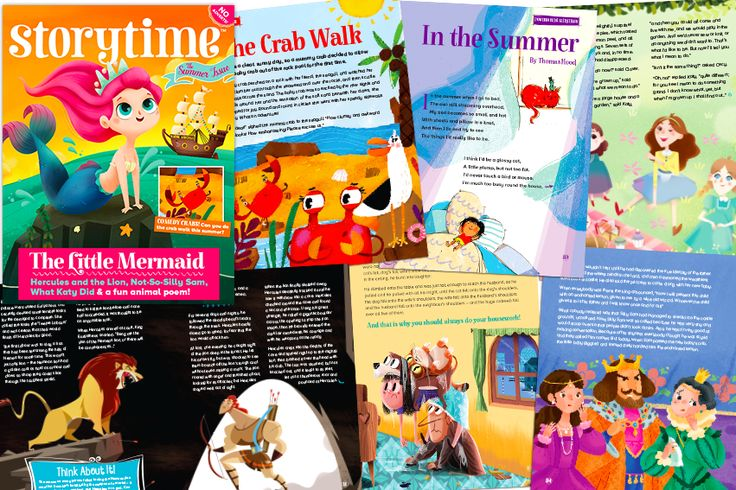A look inside our latest Storytime Issue 24 - summery stories galore! Find out more at STORYTIMEMAGAZINE.COM