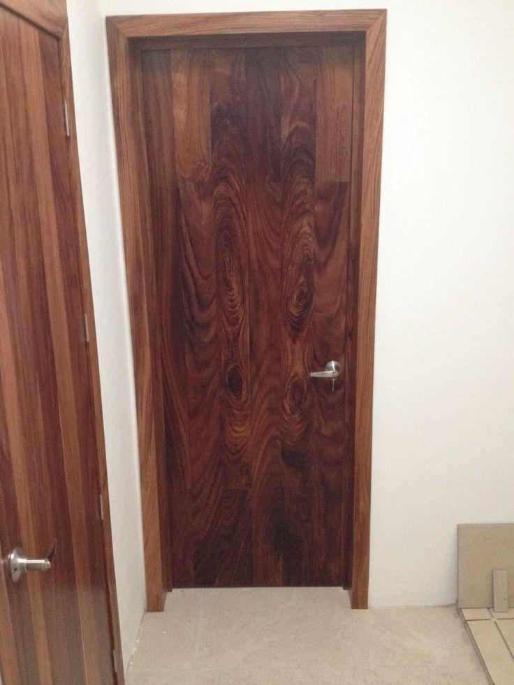 Puerta de duela en madera de parota puertas langarica - Pueras de madera ...