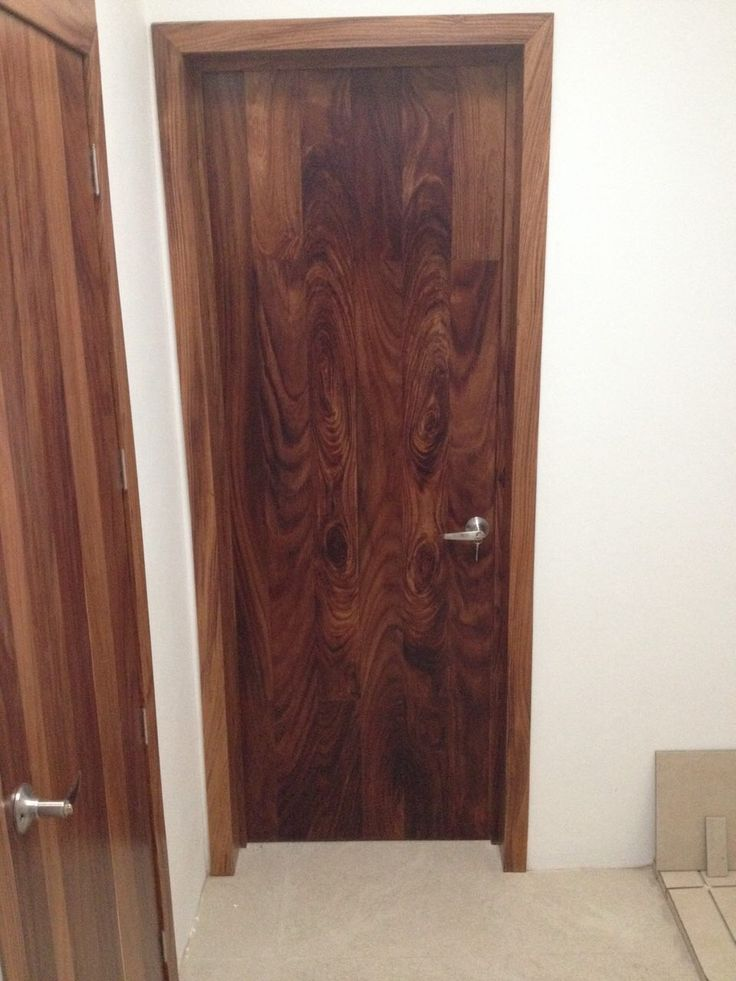 Puerta de duela en madera de parota puertas langarica - Puertas de madera ...