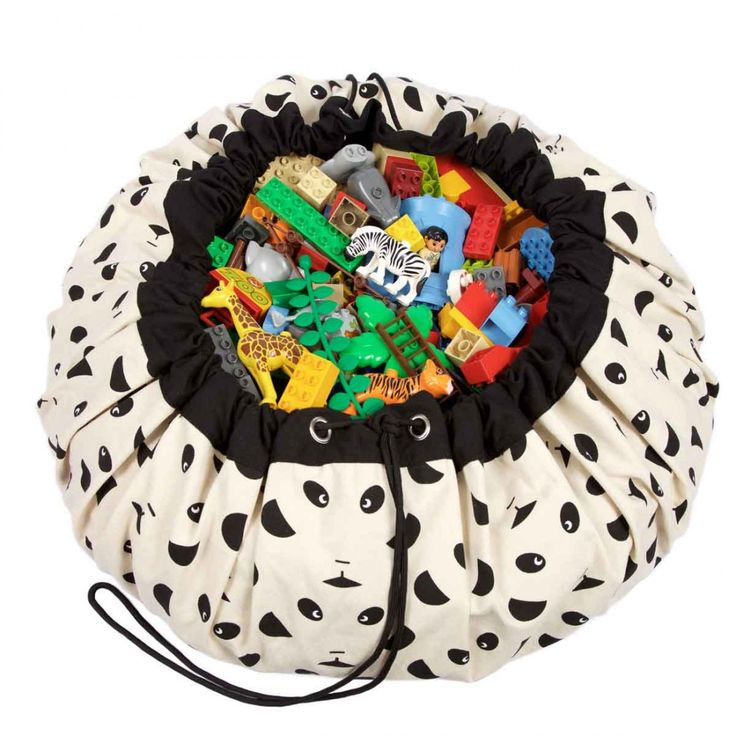 Play and Go Τσάντα αποθήκευσης παιχνιδιών & Χαλάκι - Panda