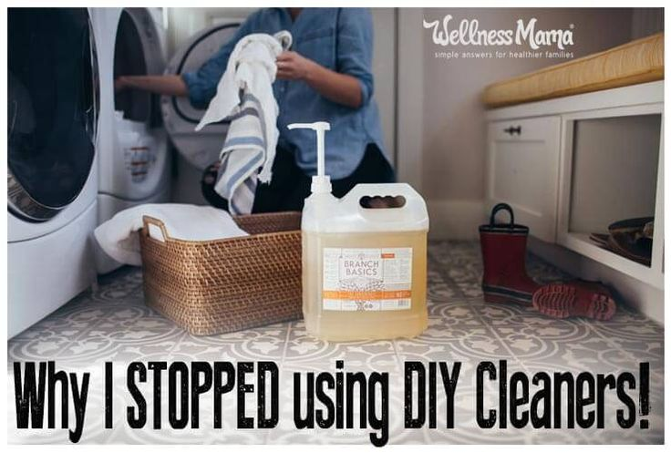 I recently stopped using my DIY green cleaners because I found something better. Gentle enough to use as a baby shampoo or toothpaste but cleans everything!