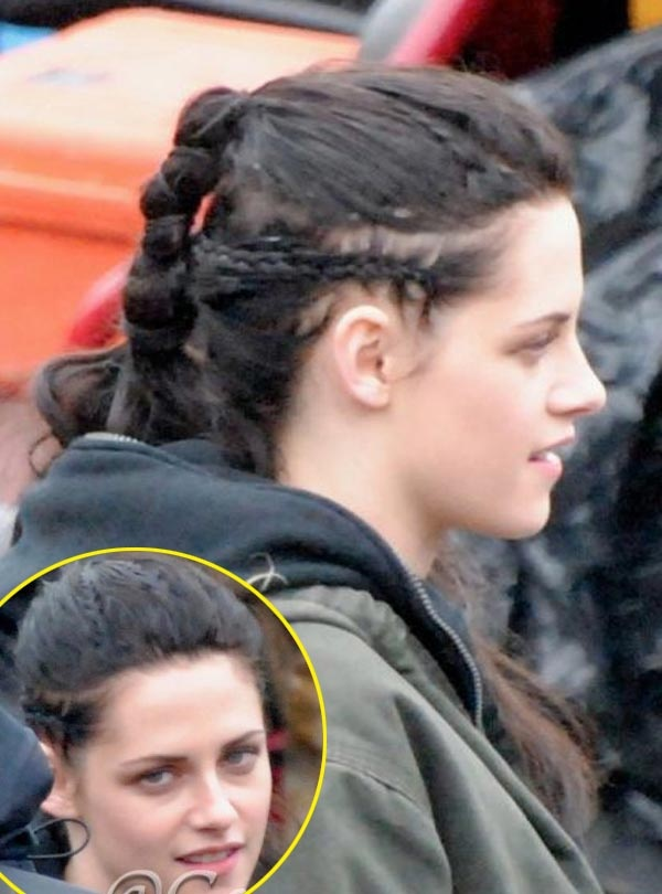 Kristen Stewart S Snow White Hairstyle Her Hair Looks