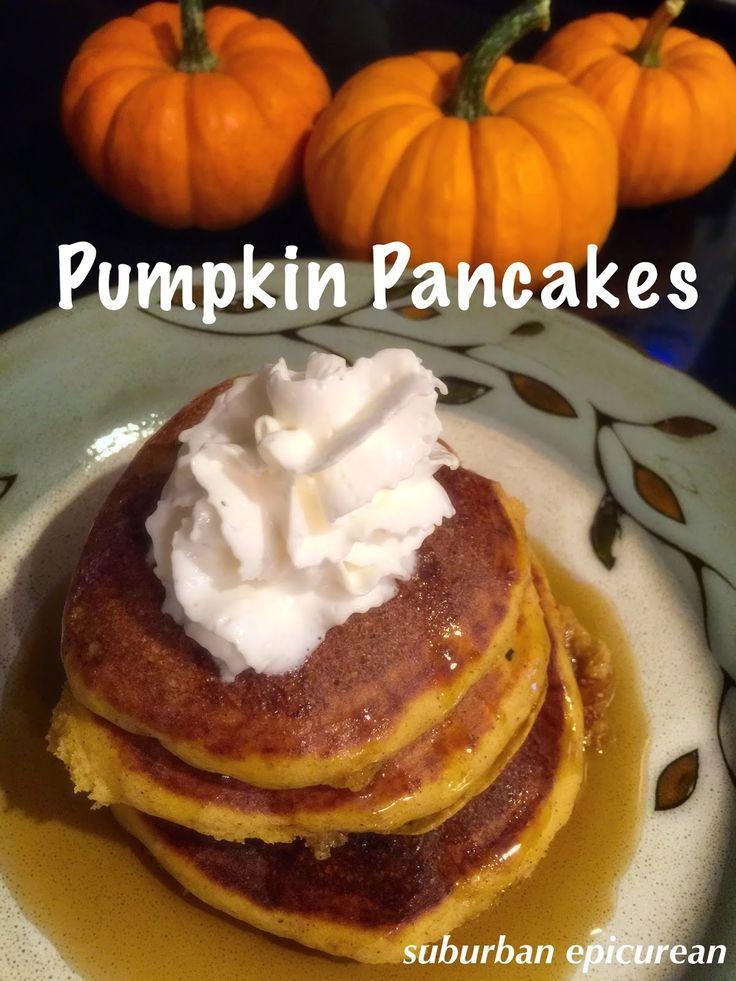 Suburban Epicurean: Pumpkin Pancakes