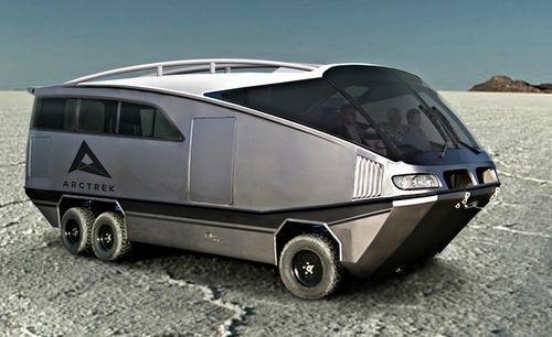 AMPHIBIOUS ADVENTURE VEHICLE 'The next generation of Recreational Vehicles'