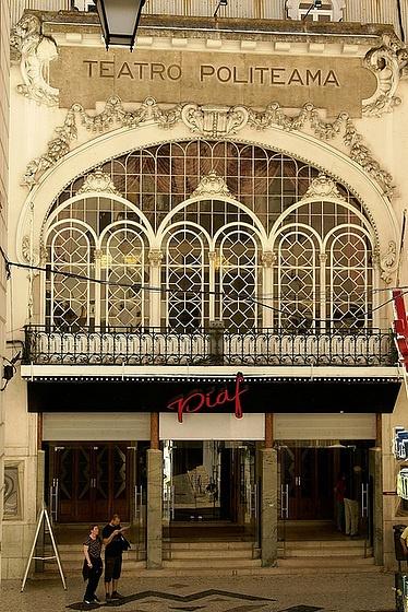 Teatro Politeama, Lisboa.