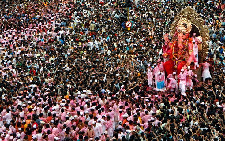 Hindu Art | Recent Hindu festivals and rituals - The Big Picture - Boston.com