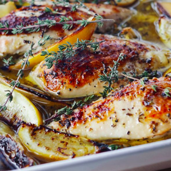 It is the #1 Most Saved Recipe of the Food Network's 'Top 50 Most-Saved Recipes' with solid 5 star ratings, and this All-Star lemon chicken breast recipe by Barefoot Contessa's Ina Garten will definitely deliver for an amazing meal you won't forget.