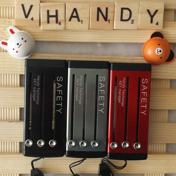 10 colors vhandy key holder in stock.