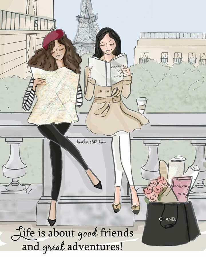 Friendship Mary Kay Chicas Dibujos Frases Inspiradoras