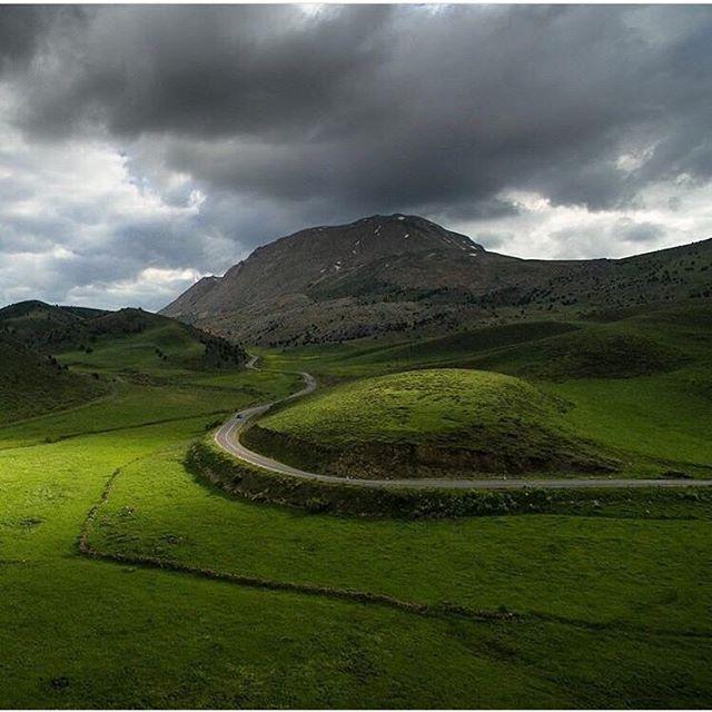 Magical Scenery in Kirmaşan, Iran.