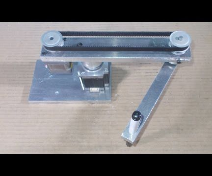 Homemade Scara Robot Arm DIY Robotic Frame Projects Chassis Draw Arduino Control