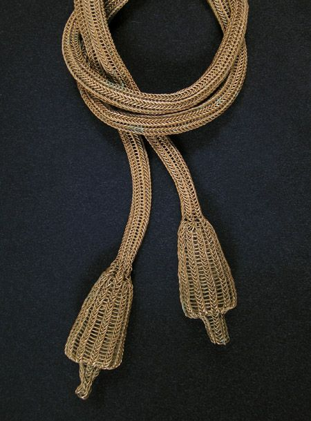 Indonesian Tribal Art - Lulu amahu necklace, East Sumba Island, Indonesia, detail