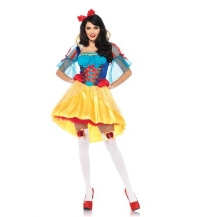 Storybook Snow White / sneeuwwitje. Carnavals outfit dames