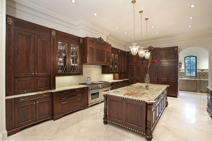 Brookhaven traditional kitchen remodel featuring LED lighting throughout the ceiling and undercabinet lighting.  Cabinet Design by Nicole Bruno Marino.