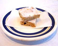 Lemon-iced Weet-Bix Slice Recipe - Slice recipes