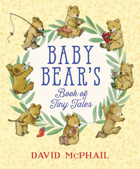 There is one such author and illustrator whose bears, real and teddy, call out his name.  In his newest title, Baby Bear's Book of Tiny Tales (Little, Brown And Company, February 13, 2018), David McPhail further endears readers to his charming furry characters.  This little guy has a knack for finding what needs to be found.