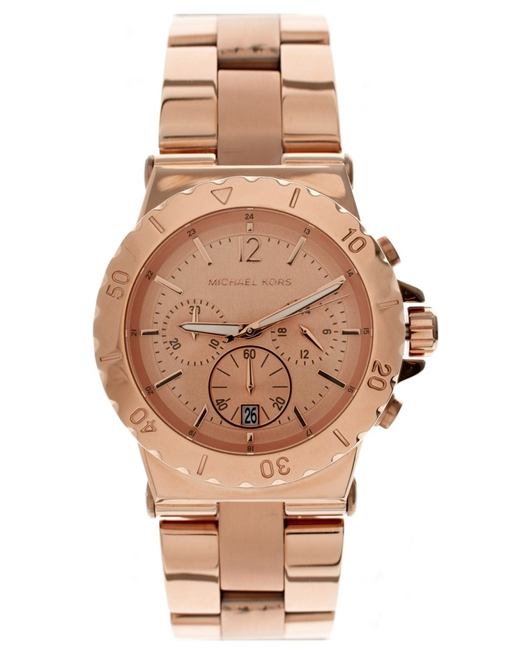 Michael Kors Rose Gold Bracelet Watch - so in right now!