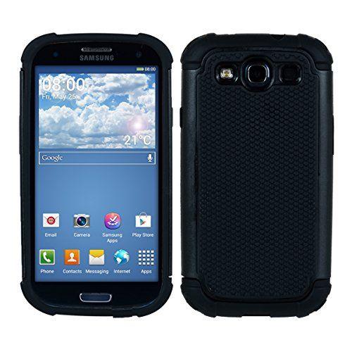kwmobile Hybrid Outdoor Hülle für Samsung Galaxy S3 / S3 Neo - Dual TPU Silikon Hard Case Handy Hard Cover in Schwarz kwmobile http://www.amazon.de/dp/B00P46MSD2/ref=cm_sw_r_pi_dp_JCSvwb0J9DDM9