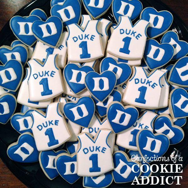 Duke University Basketball Cookies