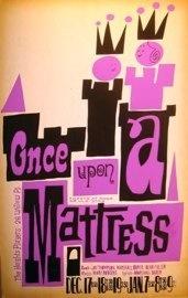 Once Upon A Mattress-David Klein Window Card