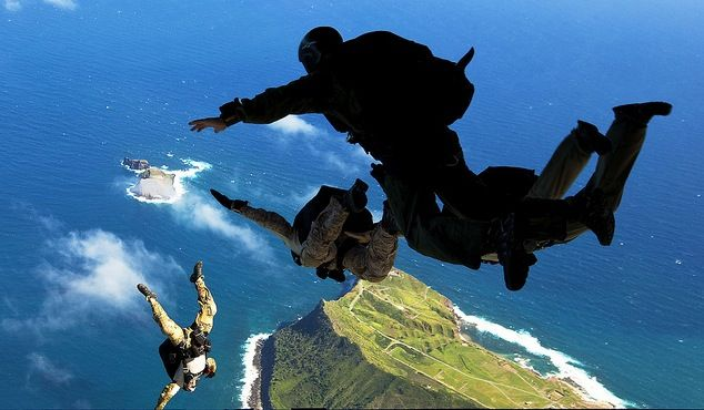 How Marine Recon Get Down