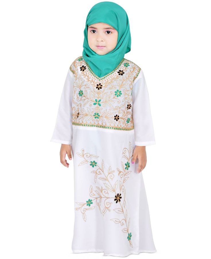 Let Your Baby Doll Take On The World With Her Smartness By Wearing This Dress. Made From Poly Crepe, This Beautiful Dress Features Adorned With Tiny Contrasting Embroidery All Over The Front. Let Your Little One Team This Dress With Matching Bellies For A Cute Look.