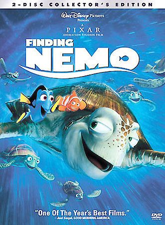 Walt Disney Finding Nemo 2 Disc Collectors Edition Includes Inserts