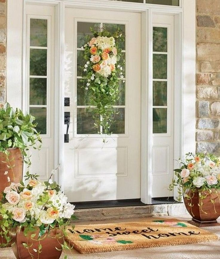 Home Design Ideas Front: 42 Sophisticated Spring Decorating Ideas For Front Porch