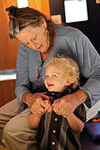 Look Who's Talking! 5 Ways to Expand a Young Blind Child's Communication Behaviors --  As children with visual impairments progress in their development of communication and develop verbal behaviors, the meanings of messages are supported by the contexts of the interactions and nonverbal cues, such as gestures. A child who is blind will not see and benefit from those visual cues and so may need help in developing these skills.