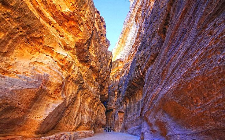 Siq Petra Beautiful Gorge