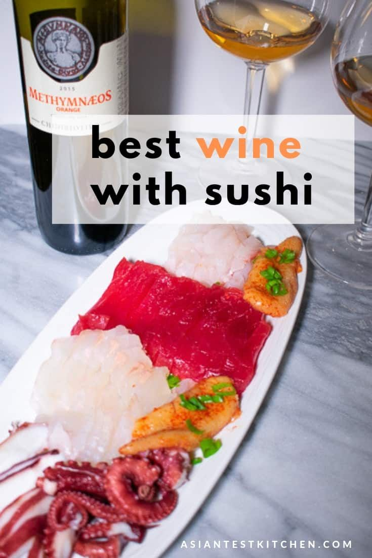 The Best Wine With Sushi Wine Food Pairing Food Sushi