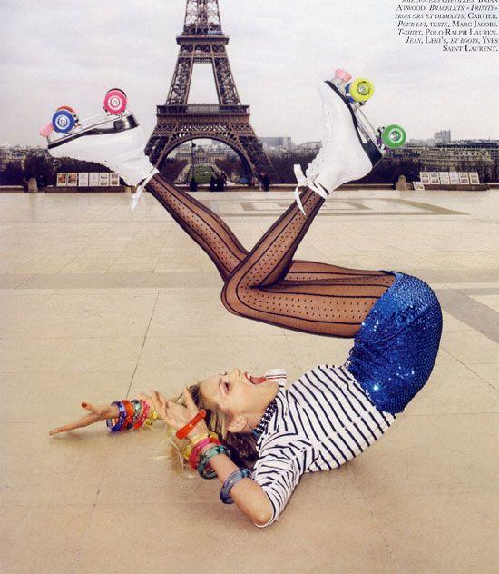 Skates in Paris