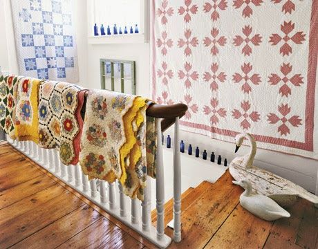 1000 images about decorating with quilts patchwork on for Alexandra decoration