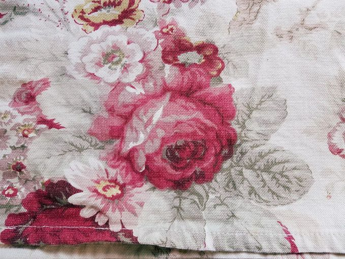 "WAVERLY Valance Norfolk Roses Cottage French Country 58"" x 17"" #Waverly #FrenchCountry"